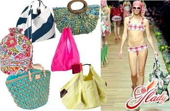 пляжные сумки 2016 года