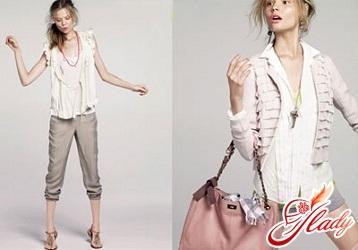 женская одежда в стиле casual
