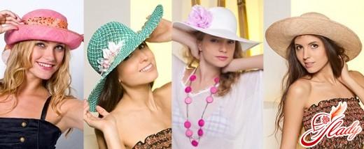 летние шляпы с большими полями