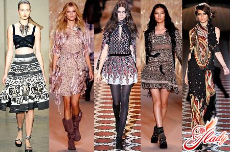модный этнический стиль в одежде