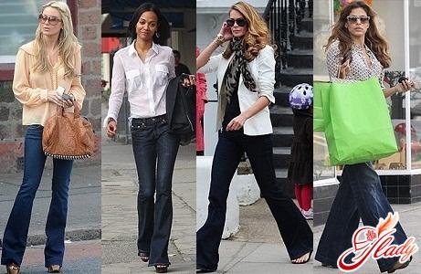 джинсы клеш 2011