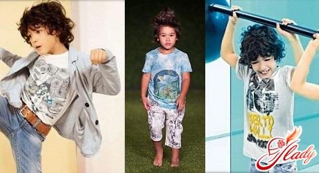 детская мода 2016 для мальчиков на лето
