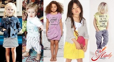 детская летняя мода для девочек