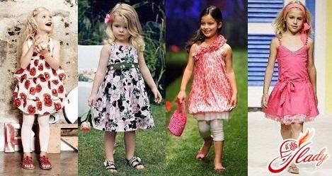 детская одежда мода 2016