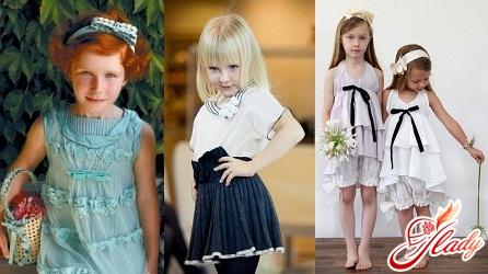 детская мода 2016 для девочек и мальчиков