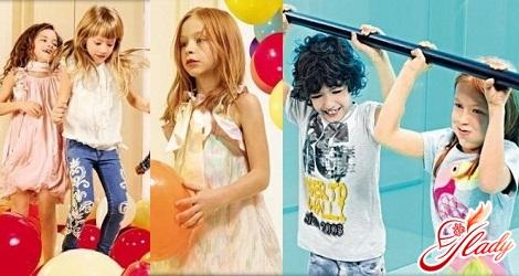 детская летняя мода 2016 года