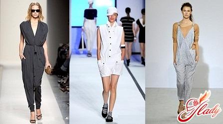 модные летние комбинезоны 2016