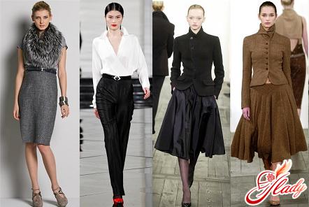 красивый классический стиль одежды