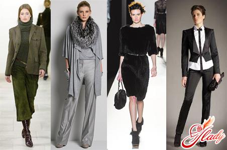 модный классический стиль одежды