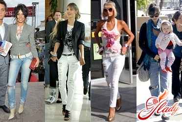 джинсы 2011 женские рваные