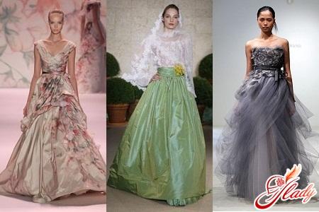DataLife Engine Версия для печати Цветные свадебные платья 2012 фото.