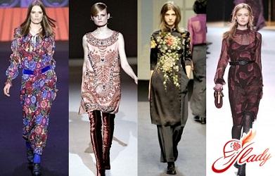 осенние платья 2011