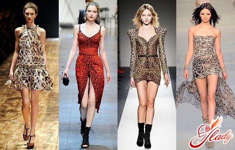 леопардовые платья 2011