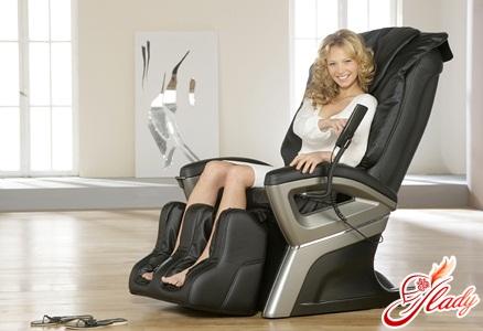 Массажные кресла - лучшие друзья женщин