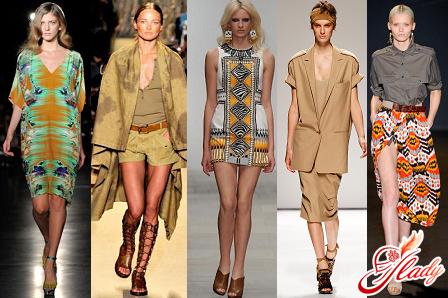 модный стиль сафари в одежде