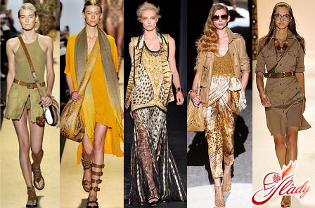 красивый стиль сафари в одеждекрасивый стиль сафари в одежде
