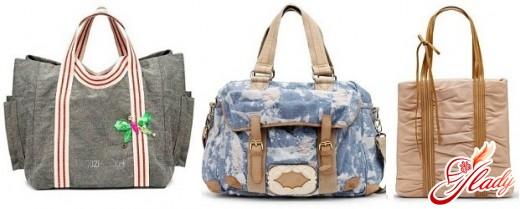 сумки текстильные женские