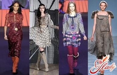 модные сапоги осень 2011