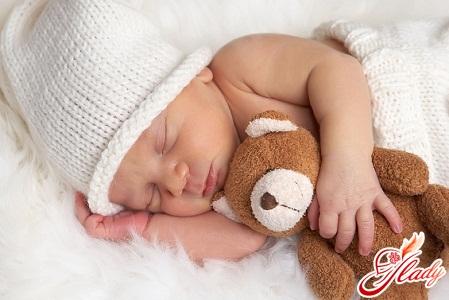 Сон грудного малыша