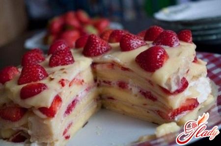 рецепт торт блинный
