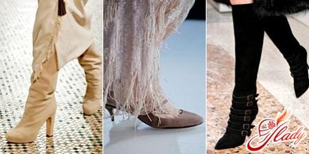 модная обувь женская осень 2016