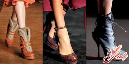 модная осенняя обувь 2016