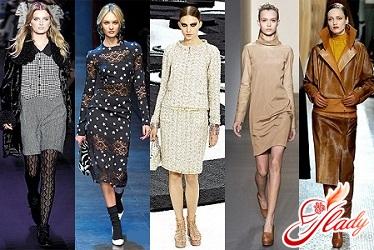 модные цвета осень 2011 зима 2012 фото моделей