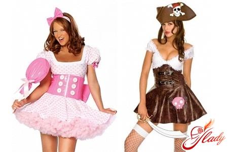 Редкие костюмы на Хэллоуин для женщин