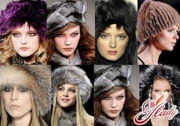 вязанные шапки женские