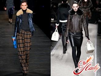модные кожаные куртки 2016 2017