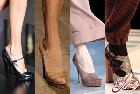 модные туфли осень 2016
