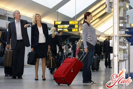 беременность и перелет на самолете