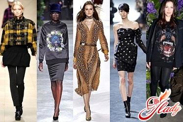 модные цвета осень 2011