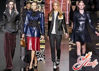 модные куртки женские кожаные осень 2016