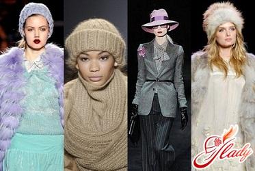 тенденции моды осень 2016 шапка