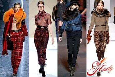 тенденции моды осень 2016 зима 2017 шарф