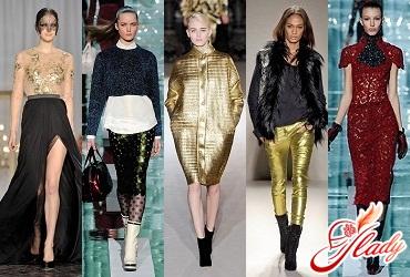 модные цвета одежды осень 2011