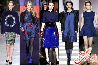 модные цвета осень зима 2011 2012 года