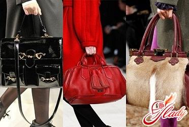 женские сумки осень 2016