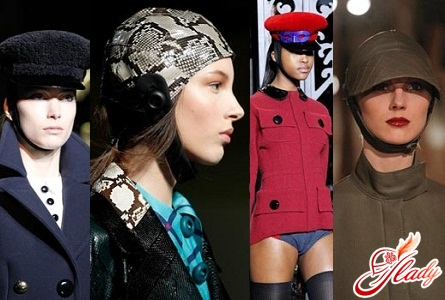 женские шапки и береты вязаные