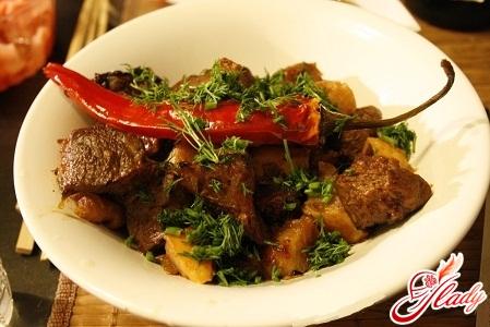 мясо с айвой рецепт