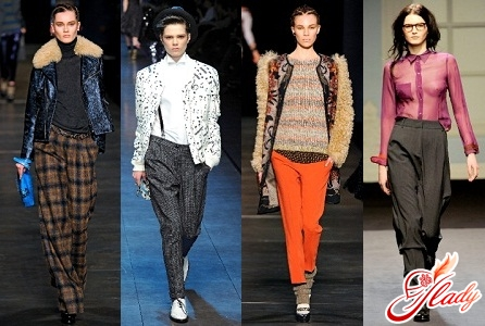 женские брюки осень 2016