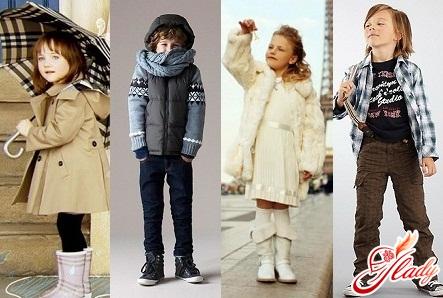 детская одежда зима 2016