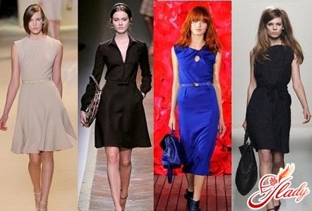 Платья делового стиля фото.