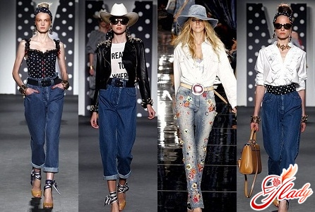 джинсы с высокой талией с чем носить