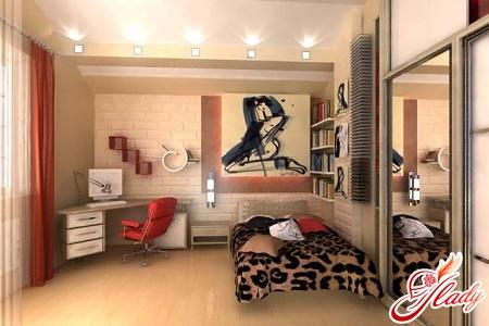 интерьер детской комнаты для подростка девочки