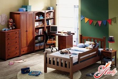 современный интерьер детской комнаты для двоих детей