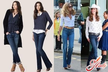 модные классические джинсы осень зима 2016/2017