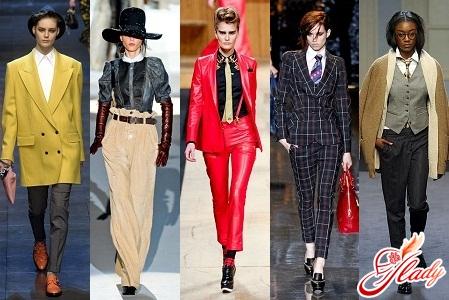 Мужские тенденции в женской моде