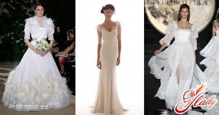 свадебные платья 2016 модные фото